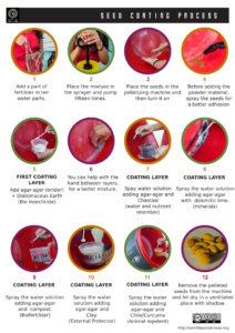 diy seed coating process